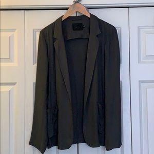 Talula slate grey blazer